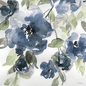 Belle's Blue I Indigo Canvas Prints