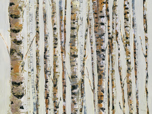 Birch Bling Canvas Art