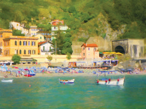 Coastal Italia II Canvas Art