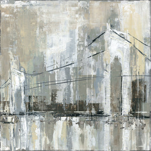 Midtown Bridge I Canvas Art