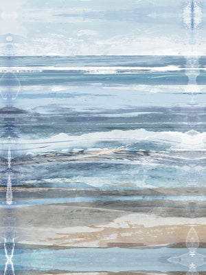 Watercolor Coastal Canvas Art
