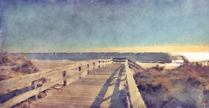 Boardwalk I Canvas Art