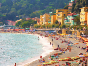 Coastal Italia I Canvas Prints