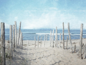 Seashore Vista Light Canvas Art