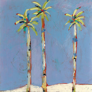 Three Palms Canvas Art