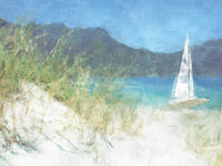 Yacht Waiting Canvas Art