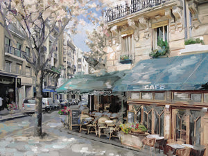 Bistro de Paris I Canvas Art