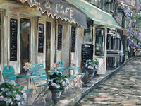 Bistro de Paris II Canvas Prints