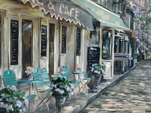 Bistro de Paris II Canvas Art