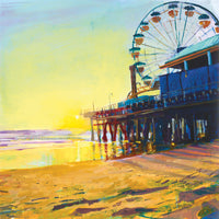 California Dreaming 2  Canvas Prints