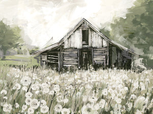 Dandelion Barn Canvas Art