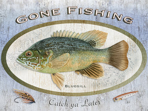 Gone Fishing Canvas Prints
