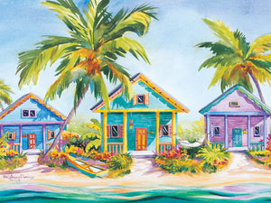 Island Charm by Kathleen Denis - highest quality handcrafted wall art work on large canvas & framed canvas prints