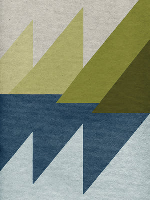 New Linen Geometrics D Canvas Art