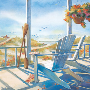 Summer Cottage Canvas Art