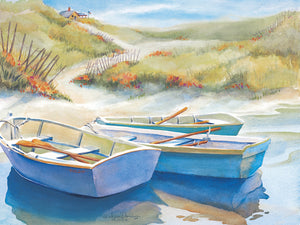 Summer Day by Kathleen Denis - larger sizes handcrafted wall art work on large canvas & framed canvas prints