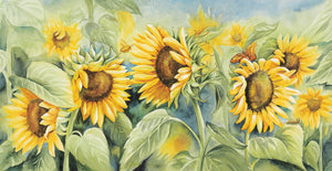 Sunshine by Kathleen Denis - best quality handcrafted wall art work on large canvas & framed canvas prints