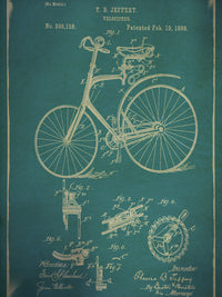 Velocipede I Canvas Prints