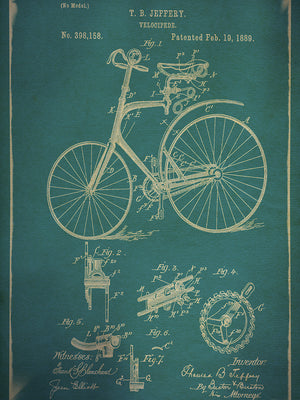 Velocipede I Canvas Art