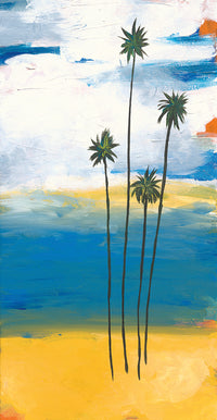 Four Palms Canvas Prints