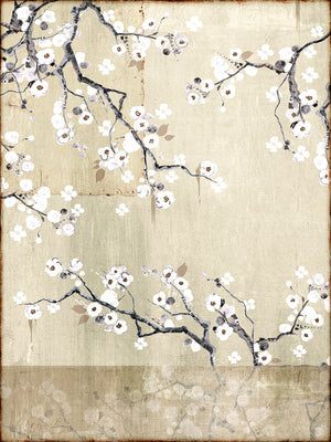 Simple Cherry Blossom Canvas Art