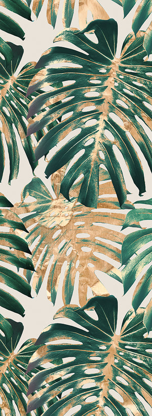 Tropic Patterns Panel I Canvas Art