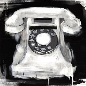 Vintage Phone Canvas Art