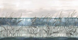 Beach Grass Blues I Canvas Art