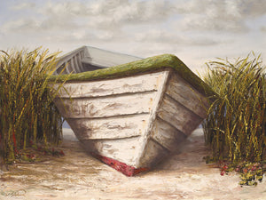 Gloucester Skiff Canvas Art