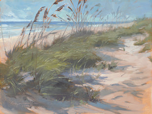 Sea Oats Waltz Canvas Art