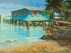 Waterfront by Kathleen Denis - lowest price wall art work on large canvas & framed canvas prints