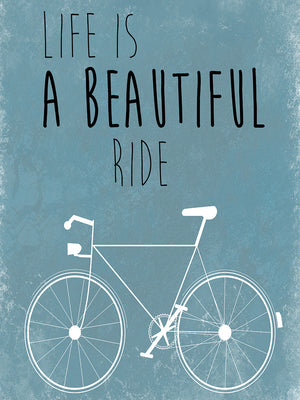 A Beautiful Ride Canvas Art