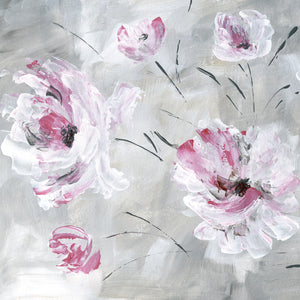 Blush Bloom I Canvas Art