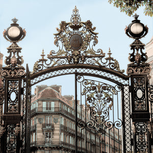 Paris Gates #2 Canvas Art