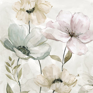 Garden Grays Detail I Canvas Art