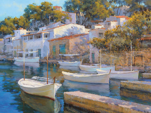 Cala Figuera 24 Canvas Art