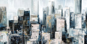 City Center Canvas Art