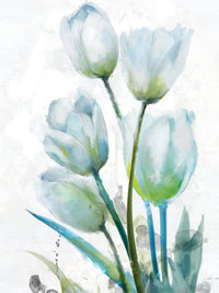 Tulip Gathering I Canvas Art