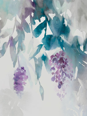 Delicate Wisteria Canvas Art