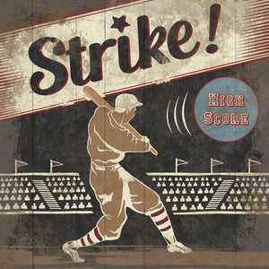 Strike Canvas Art