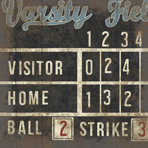 Varsity Field Canvas Art