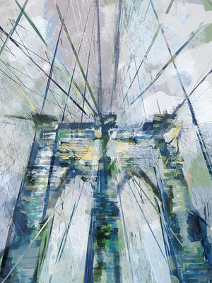 Bridgescape Canvas Art