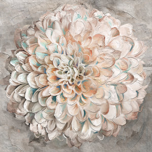 Confetti Dahlia Canvas Art