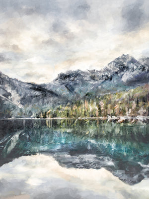 Lake Reflections Canvas Art