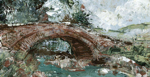 Ancient Lake District Bridge Canvas Art