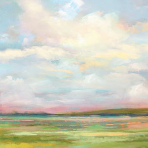 Landscape View Soft Canvas Art