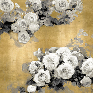 Opulent Blooms II Canvas Art