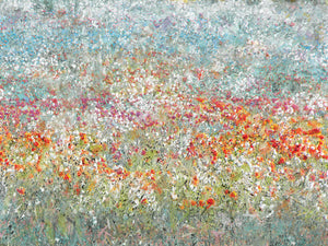 Flower Field Canvas Art