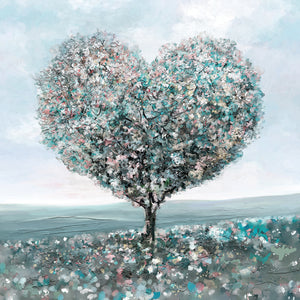 Tree of Love Canvas Art