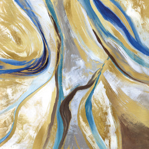 Agate & Gold II by Nan - lowest price wall art work on large canvas & framed canvas prints